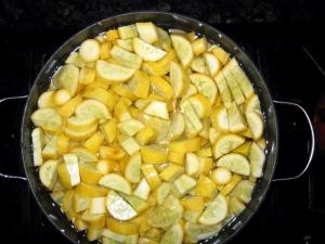 Squash cooking 11-27-08