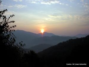 North Carolina sunrise 8-02
