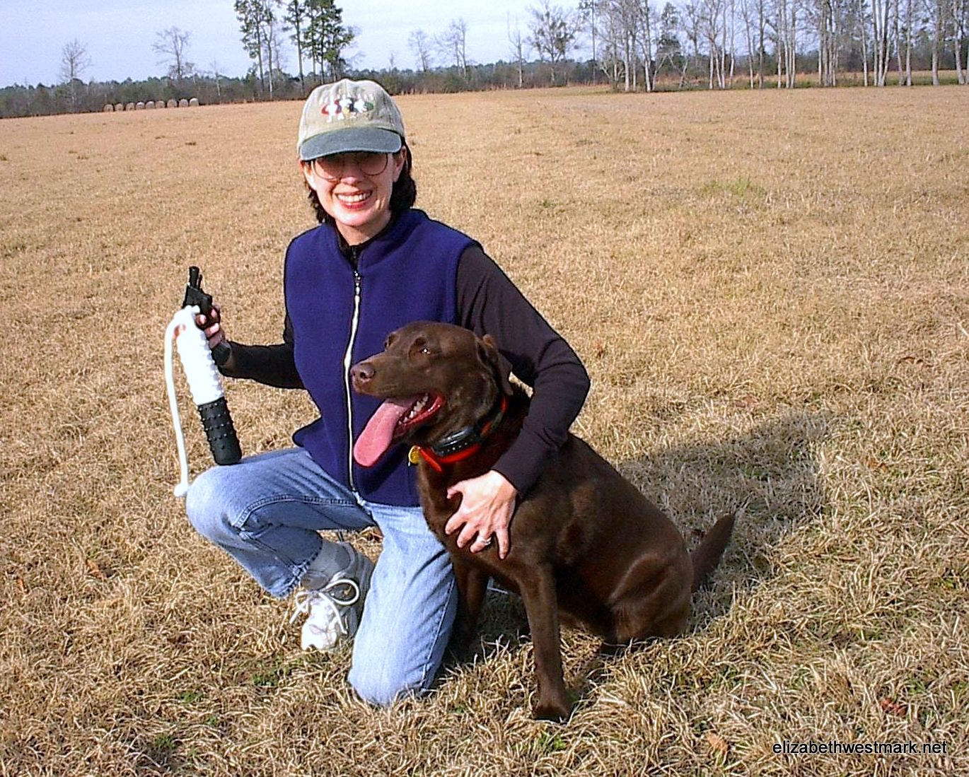 Beth and Maggie, January 2004