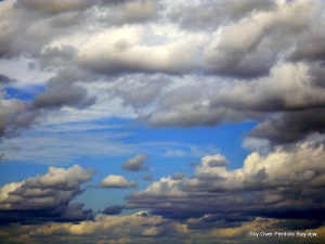 Skies over Perdido Bay 10-09