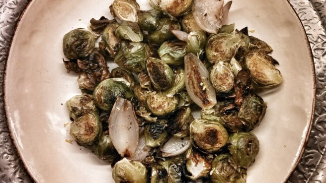 Roasted Brussell's Sprouts